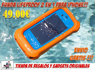 funda acuatica, impermeable y sumergible para iphone