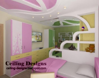 Kids Bedroom Ceiling Designs modern bedroom ceiling designs - collection #2