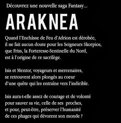 Blurb Araknea novel fantasy scifi time travel and giant mechas