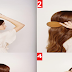Half Up Half Down Hairstyle Tutorial For Weddings