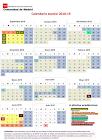 Calendario escolar 2018-2019