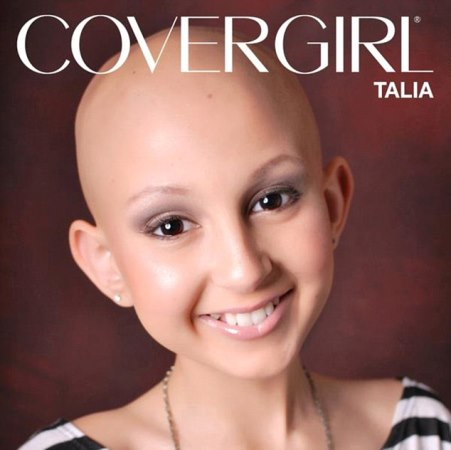 CoverGirl Talia Castellano dies at 13 after six year battle with cancer