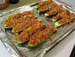 Cooking with Barry & Meta: Sausage Stuffed Zucchini Boats . . . a ...