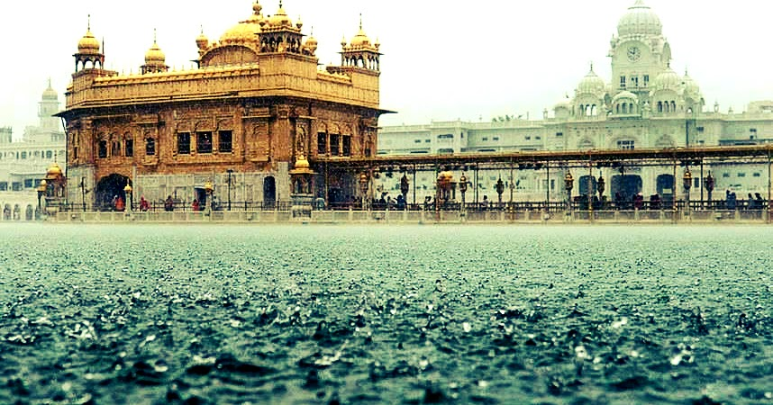 Golden Temple Golden Temple Rain Wallpapers