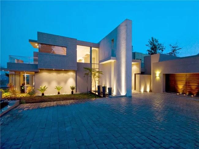 Casas minimalistas y modernas fachadas y frentes minimalistas for Frentes de casas minimalistas