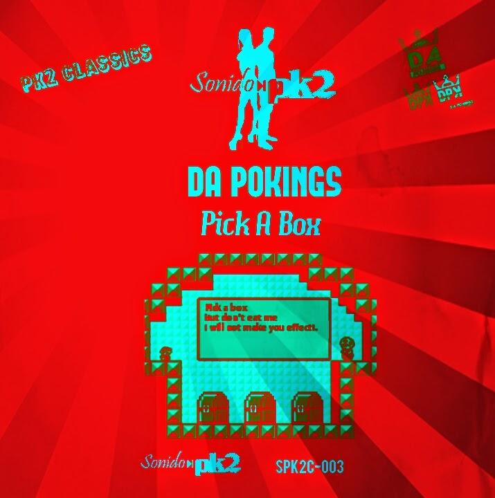Sello digital SonidoPk2 DA POKINGS - Pick A Box SPK2C-003