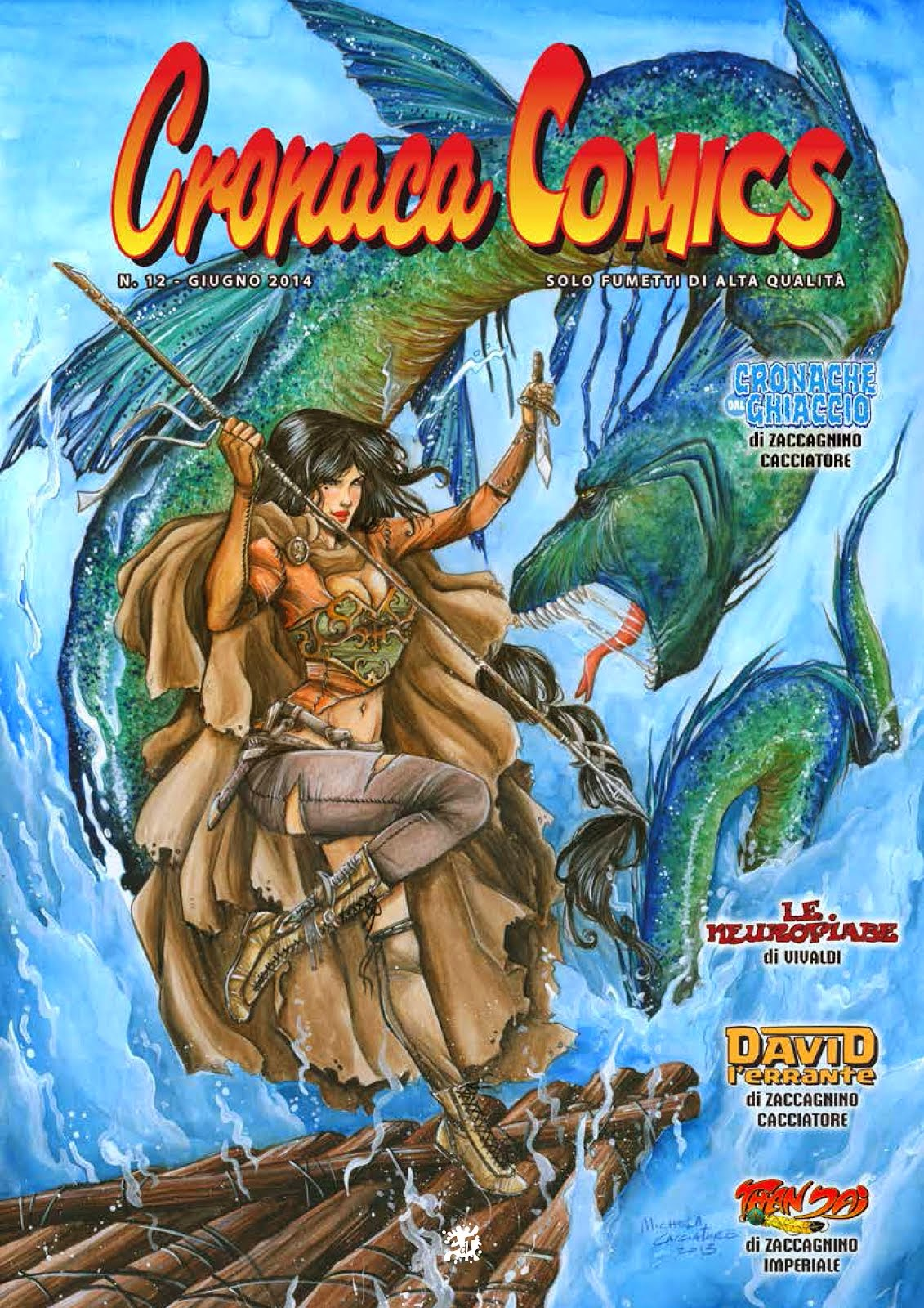 WONDERLAND su Cronaca Comics n.12