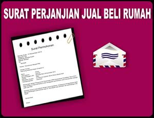Gambar Contoh Surat Perjanjian Jual Beli Rumah dan Tanah