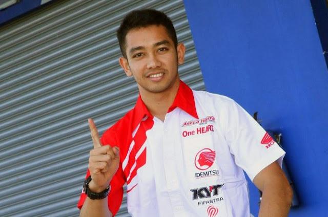 Pembalap Indonesia yang ikut di ajang MotoGP