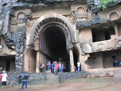 Bhaja main hall Cave