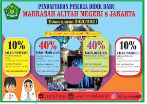 PPDB MAN DKI JAKARTA 2020