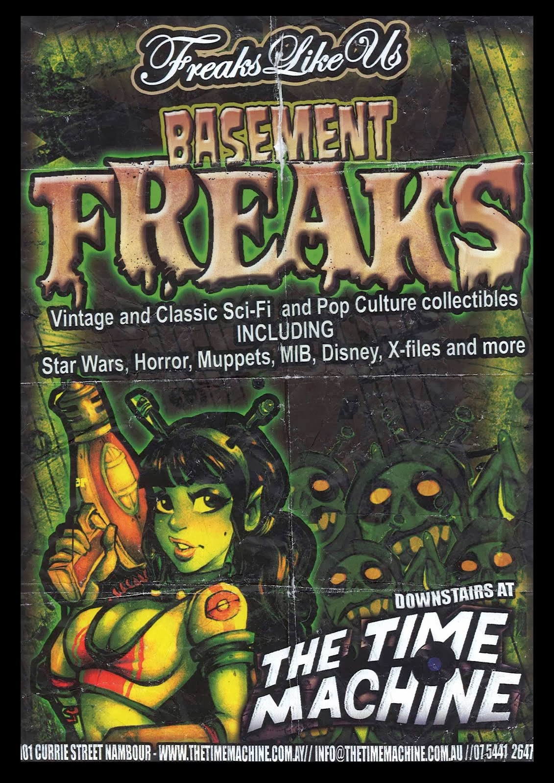 Basement Freaks at the Time Machine