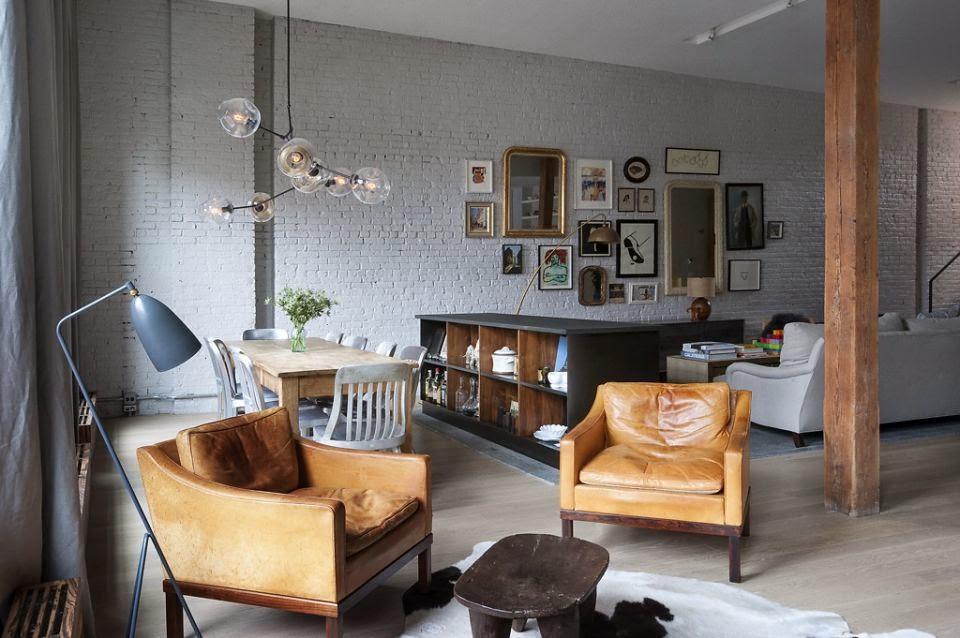Industrial] Brick Factory Loft en Brooklyn – Virlova Style