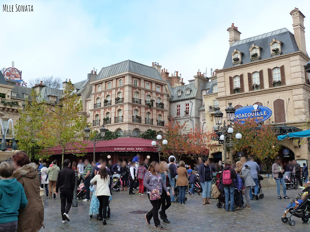 Attraction Ratatouille. Disney Studio.
