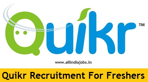 quikr india recruitment 2018