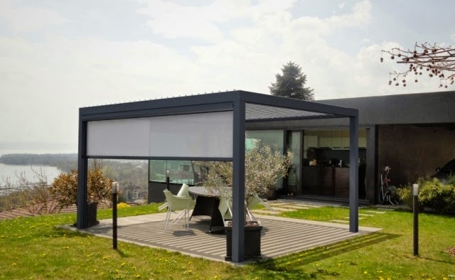 Bioclimatic Terrace Roofs Ideas