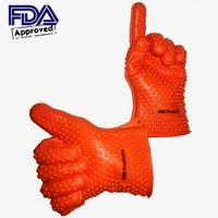 NIM Products BBQ Gloves On Amazom