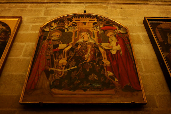 Painting in the treasury of the Cathedral, Sevilla