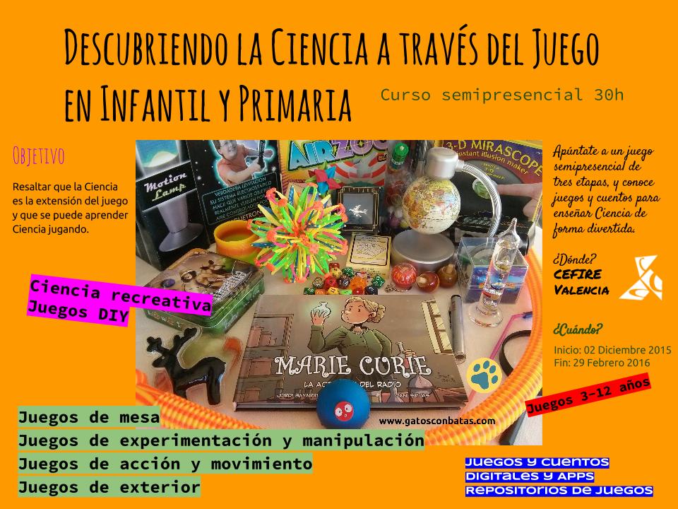 Curso del CEFIRE de Valencia 15VA11IP214