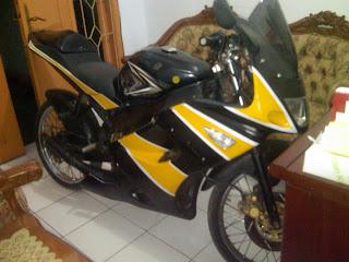 Motor Rx King B 5696 XB Jakarta-Kupang