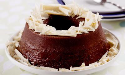 Receita de Brigadeirão com arroz e chocolate