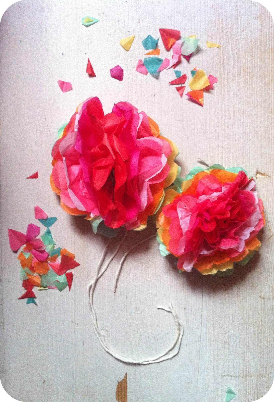 How To Make Small Tissue Paper Flowers College Paper Academic