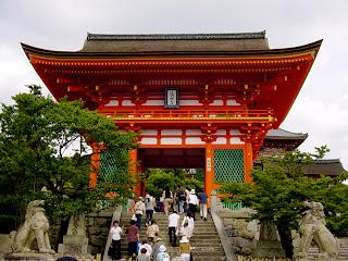 Fotografía del Templo de Kiyomizu-dera