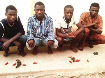 royal father's son arrested robbery lagos