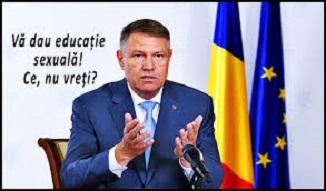 Peter Costea 🔴 O lume pe invers: Gândirea bizară a domnului Iohannis privind educația sexuală