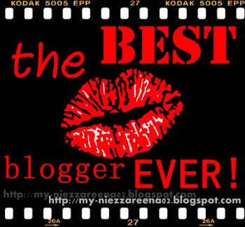 Best blogger ever award!