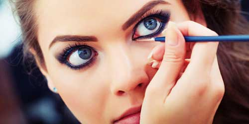 maquillaje de ojos con eyeliner invisible
