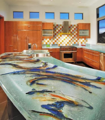 glass-kitchen-countertop