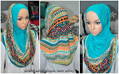 Koleksi Syria Cotton Hood Tribal