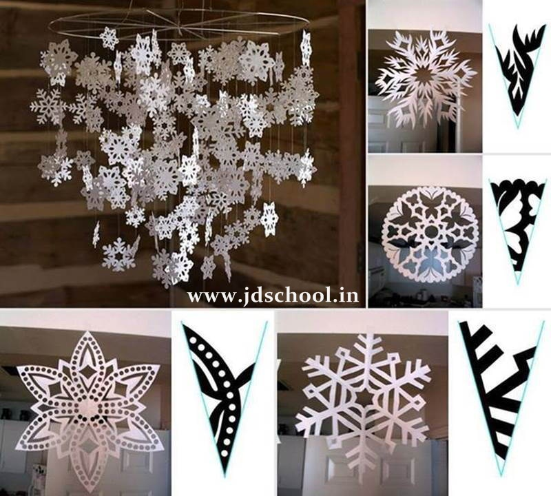 Creative ideas beautiful paper snowflake crazzy craft for Creative ideas with paper