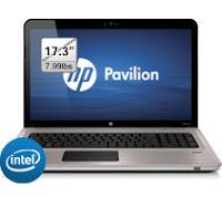 HP Pavilion dv7t Quad Edition series