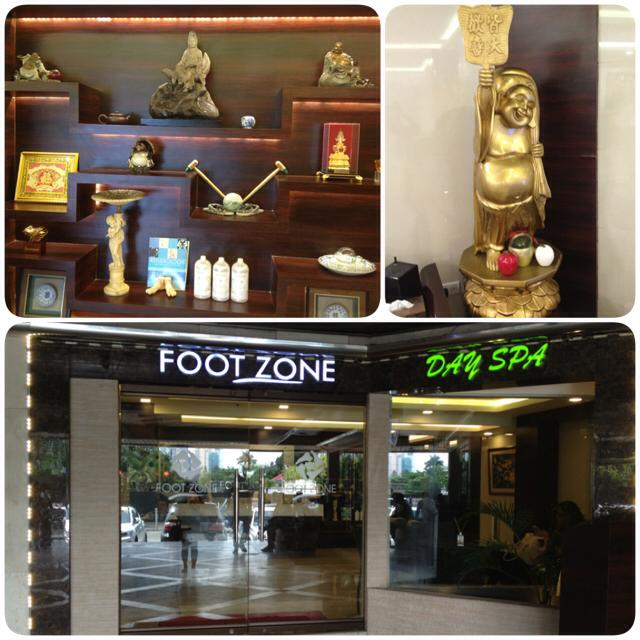 A Relaxing Foot Massage: Footzone Day Spa