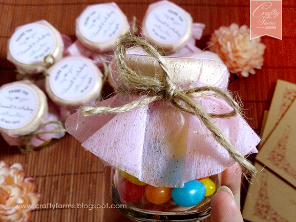 Sweet Treats Jelly Bean Favours for Wedding and Kids Party
