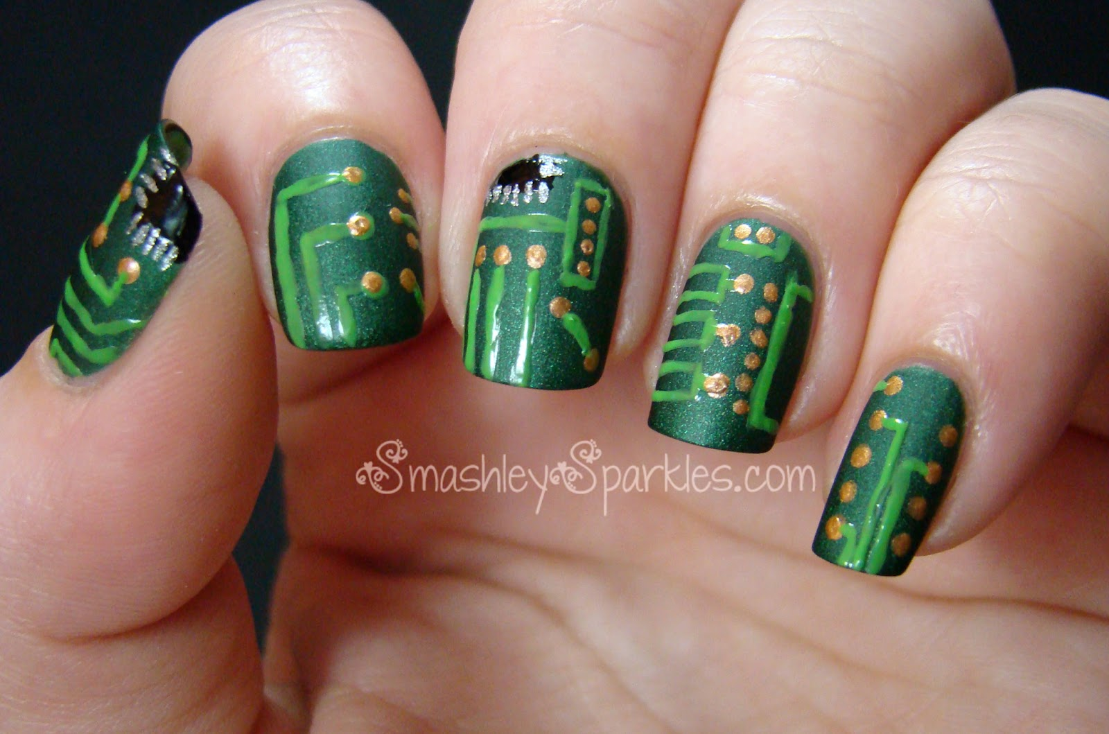Nail Art Ideas » Moon Phase Nail Art - Pictures of Nail Art Design Ideas
