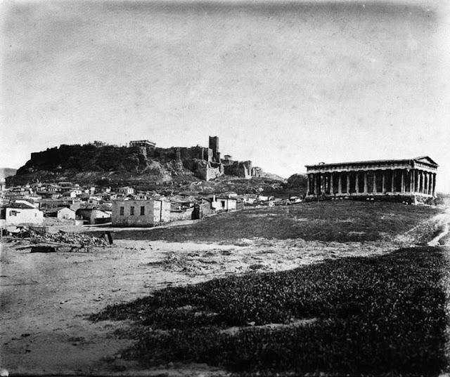 παλιά Αθήνα-παλιές φωτογραφίες της Αθήνας-Αθήνα–Η Ακρόπολη-Θησείο-λόγια απλά