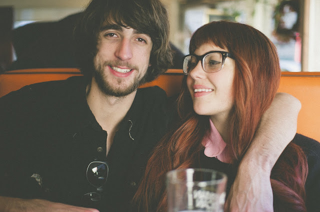 couple, cute, diner, glasses, tumblr, New York