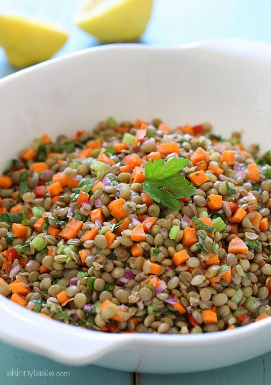 Lentil Salad - Viral pictures of the day: Lentil Salad