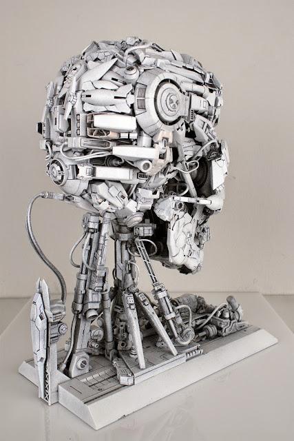 gundam skull head century model kits