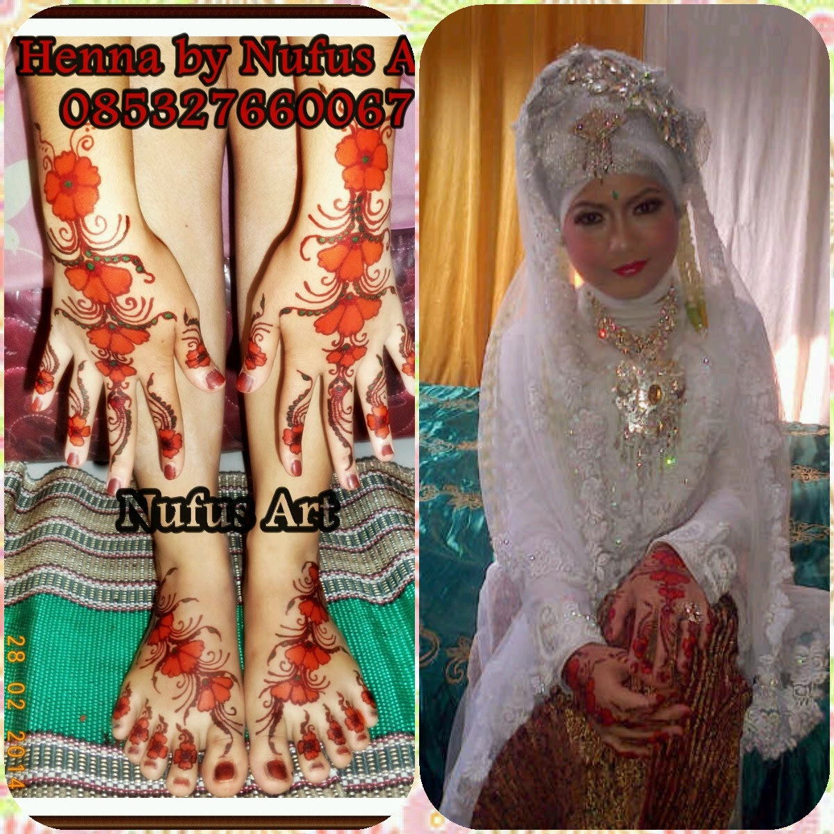 Henna Natural Dan Henna Instant Untuk Pernikahan JABODETABEK