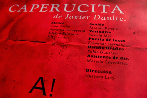 """Caperucita"" - de Javier Daulte"