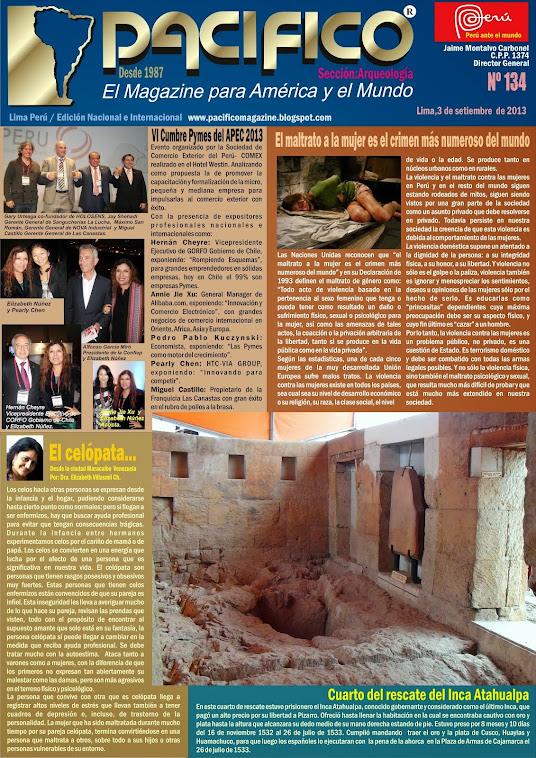 Revista Pacífico Nº 134 Arqueología