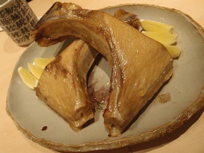 Grilled Maguro Kama