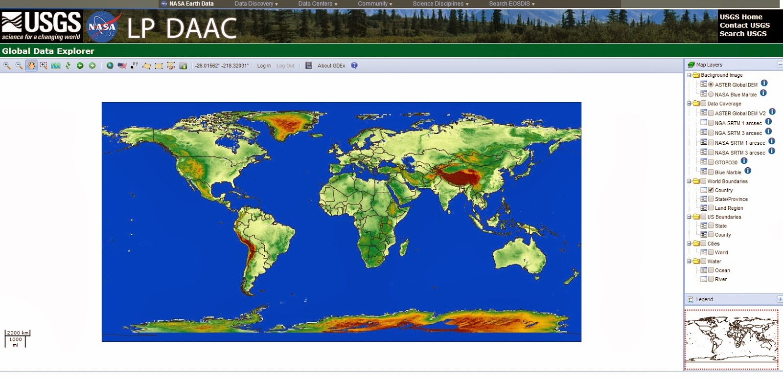 Alberto Gaudio Blog ASTER Global DEM Surfer Create Your Map In - Dem global