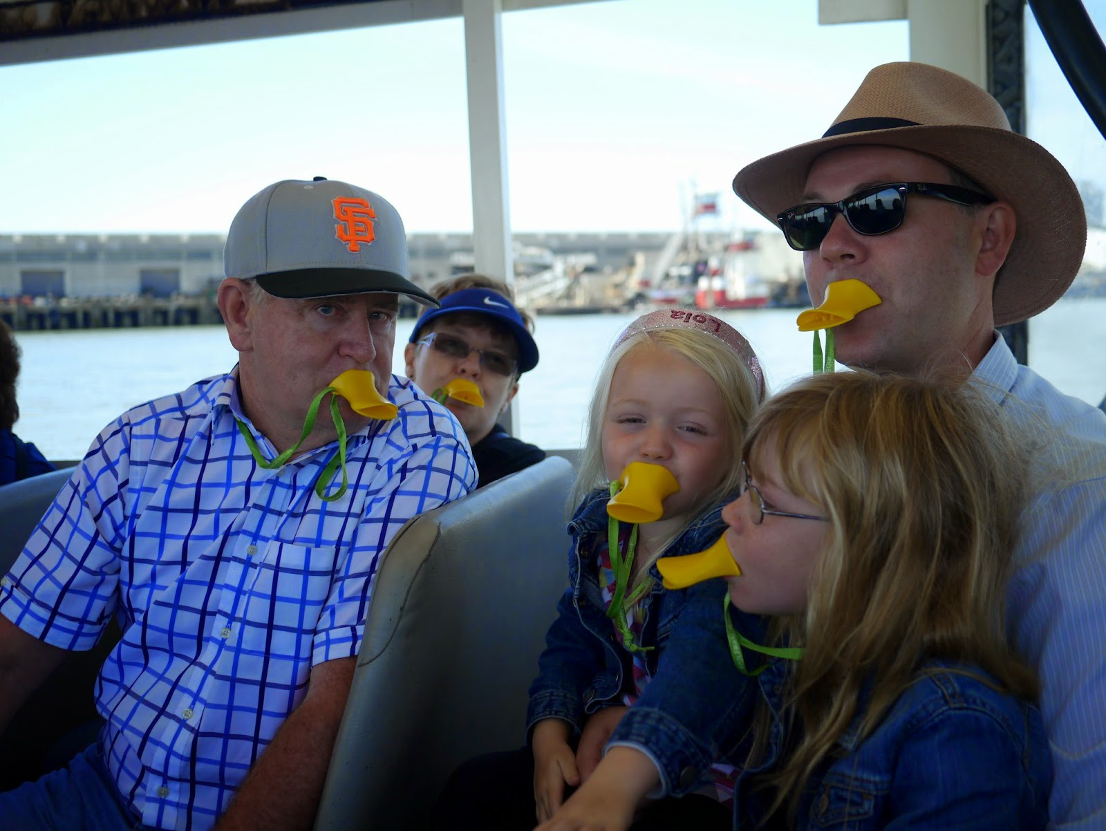 with mamma u0026 papa we toured the city on ride the ducks