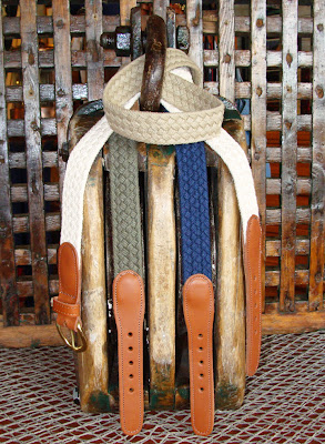 Skipjack's Nautical Living: Nautical Belts for Men & Women at Skipjack
