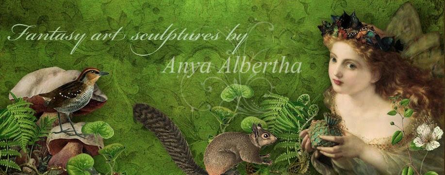 Fairy Whisperer Fantasy sculptures by Anya